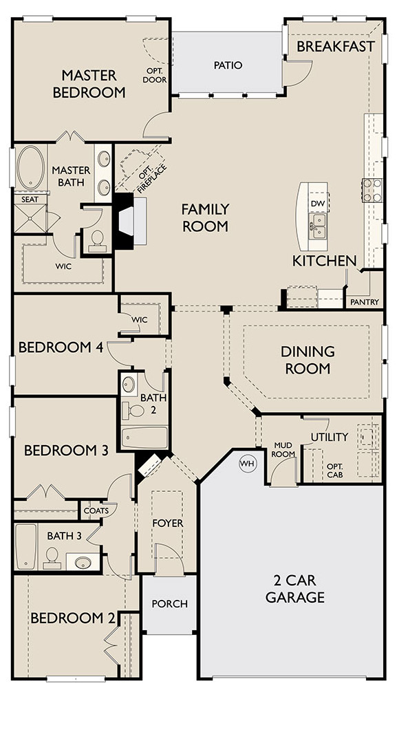 Canyon Falls Ashton Woods Del Rio Floor Plan