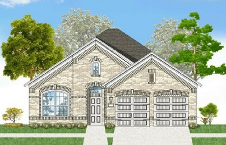 Canyon Falls Coventry Homes Plan 2153 Elevation A