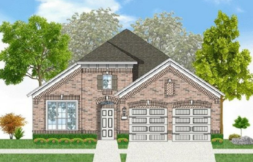 Canyon Falls Coventry Homes Plan 2153 Elevation B