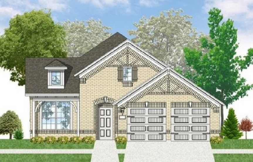 Canyon Falls Coventry Homes Plan 2153 Elevation C