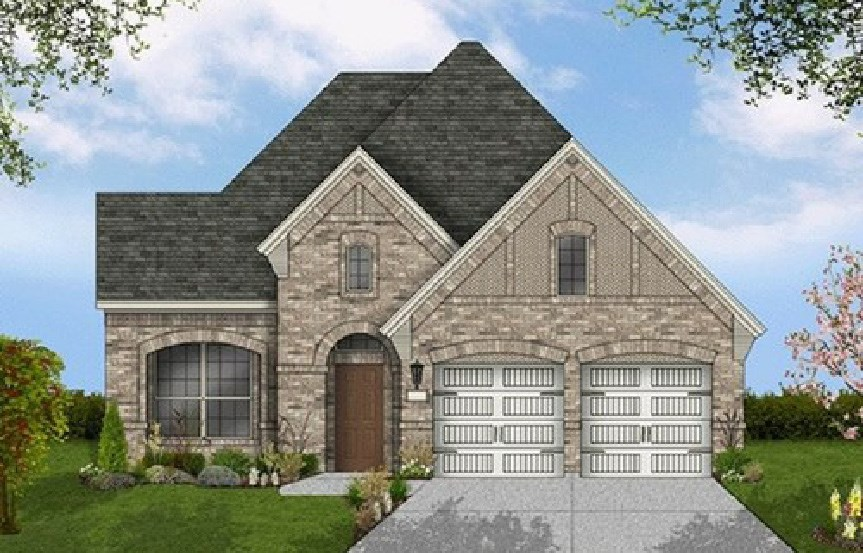 Canyon Falls Coventry Homes Plan 2153 Elevation D
