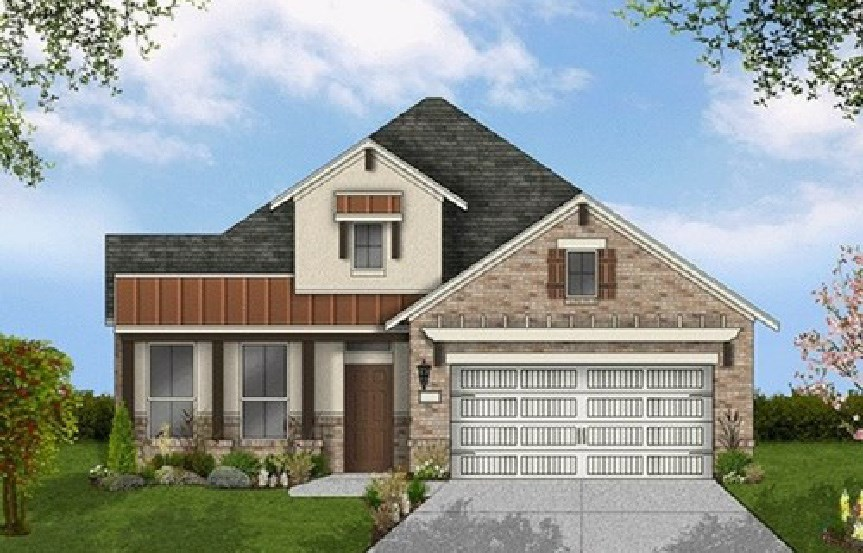 Canyon Falls Coventry Homes Plan 2153 Elevation E