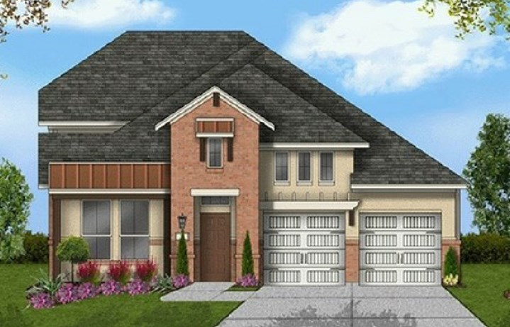 Canyon Falls Coventry Homes Plan 2530 Elevation
