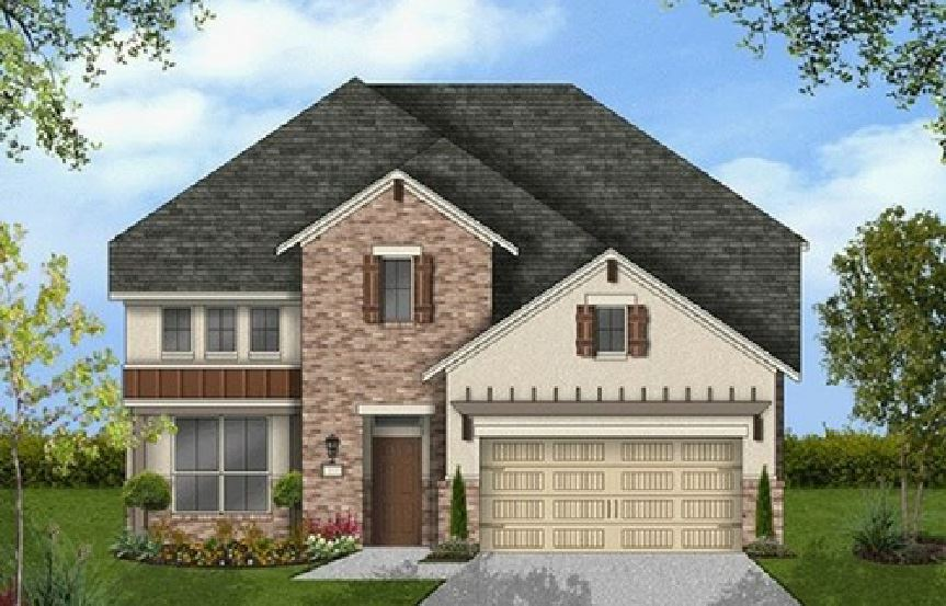 Canyon Falls Coventry Homes Plan 2587 Elevation