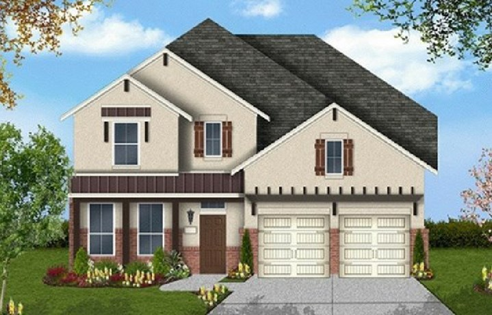 Canyon Falls Coventry Homes Plan 2944 Elevation