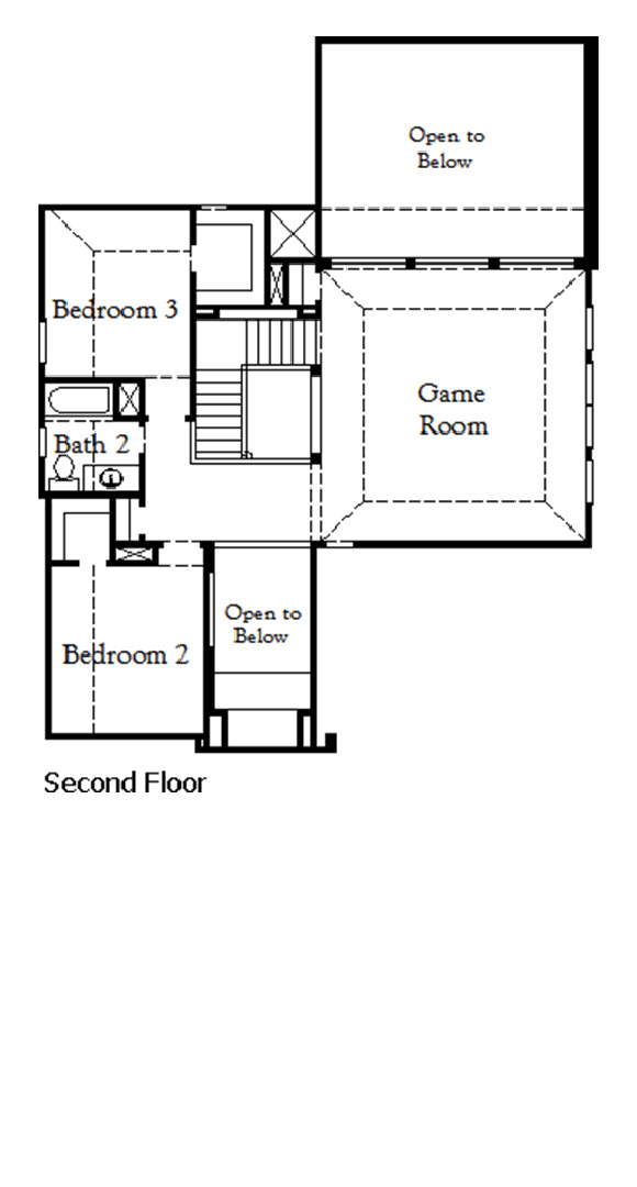 Canyon Falls Coventry Homes Plan 2944 Floor Plan