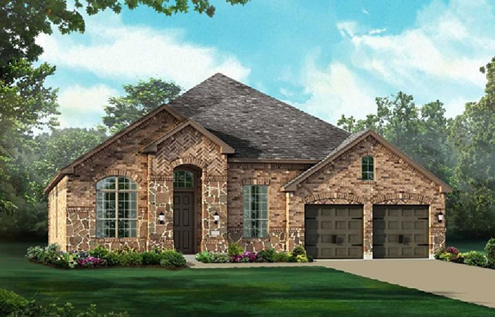 Canyon Falls Highland Homes Plan 243 Elevation A