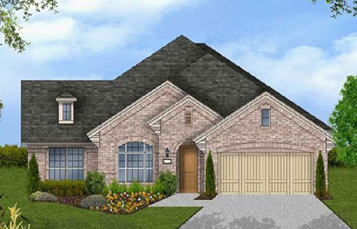 Canyon Falls Coventry Homes Plan 2541 Elevation A
