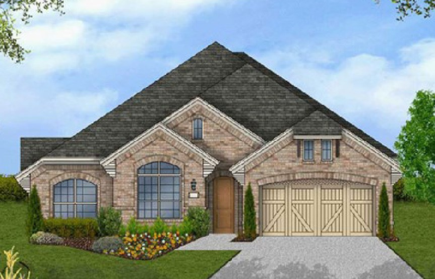Canyon Falls Coventry Homes Plan 2541 Elevation B