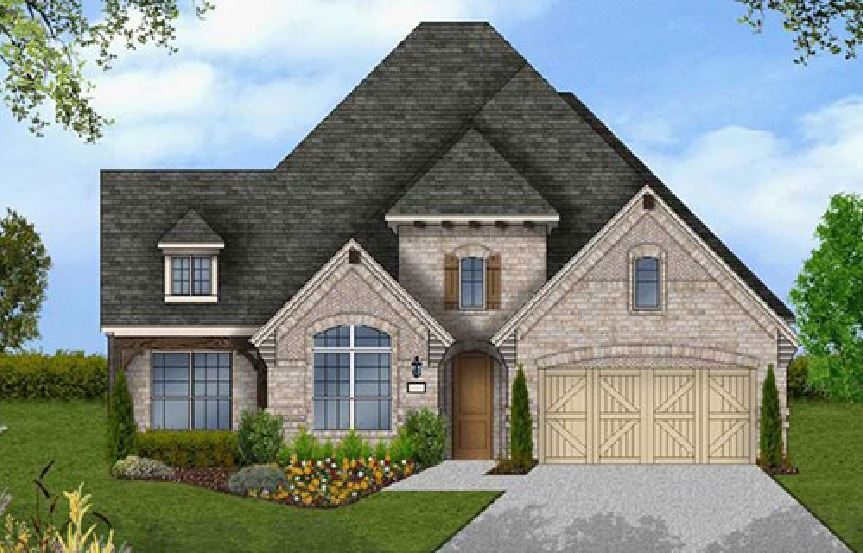 Canyon Falls Coventry Homes Plan 2541 Elevation C
