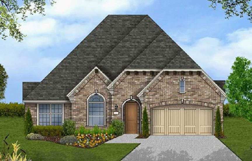 Canyon Falls Coventry Homes Plan 2541 Elevation D