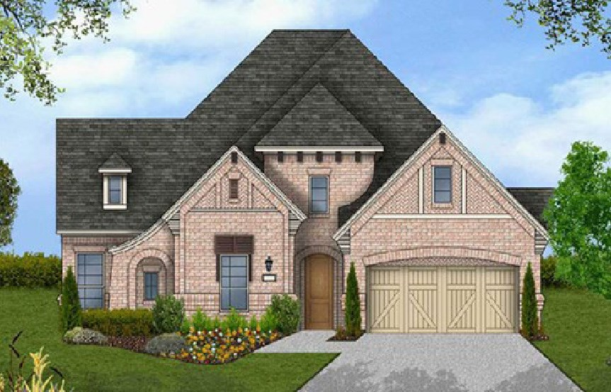 Canyon Falls Coventry Homes Plan 2541 Elevation E