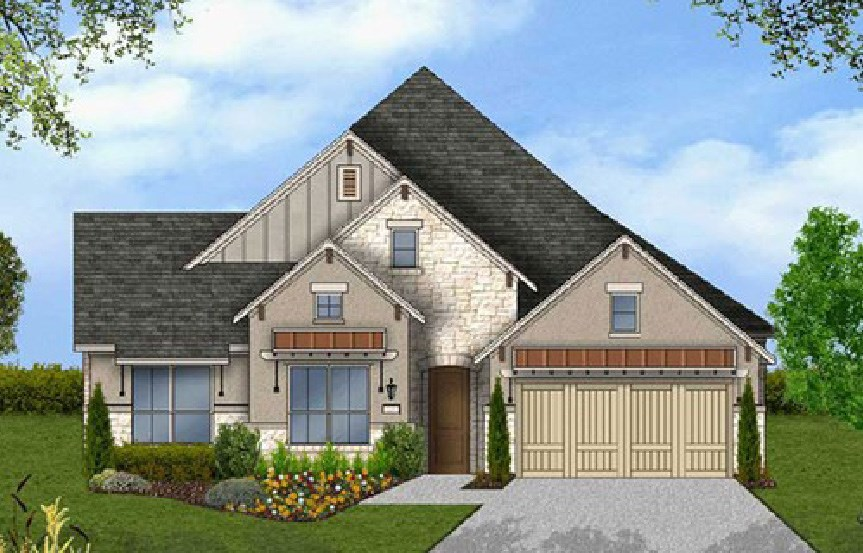 Canyon Falls Coventry Homes Plan 2541 Elevation F