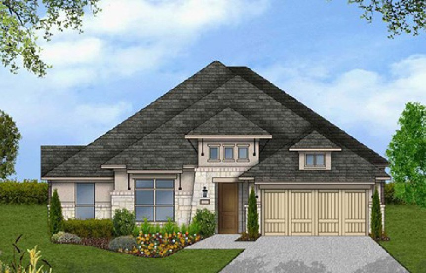 Canyon Falls Coventry Homes Plan 2541 Elevation G