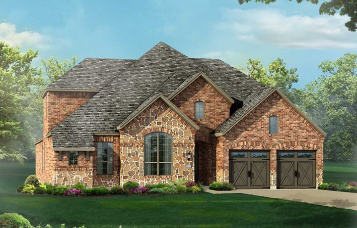 Canyon Falls Highland Homes Plan 921 Elevation A
