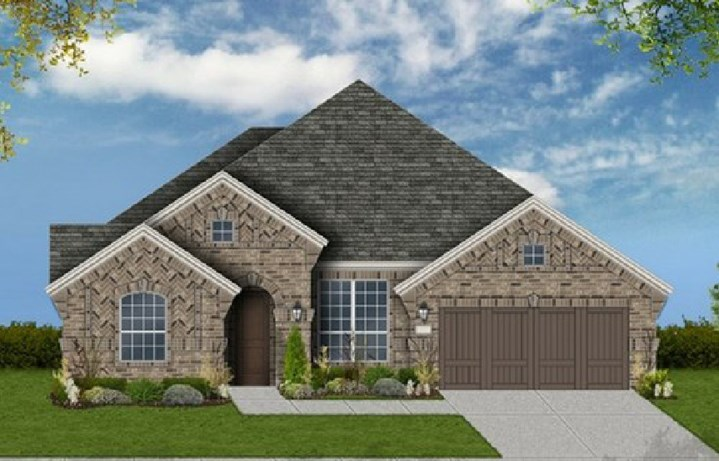 Canyon Falls Coventry Homes Plan 2767 Elevation A