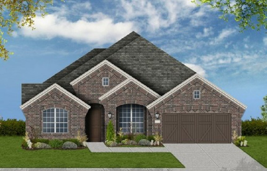 Canyon Falls Coventry Homes Plan 2767 Elevation B