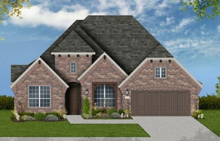 Canyon Falls Coventry Homes Plan 2767 Elevation C
