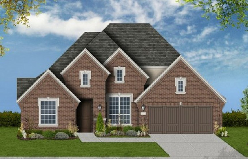 Canyon Falls Coventry Homes Plan 2767 Elevation D