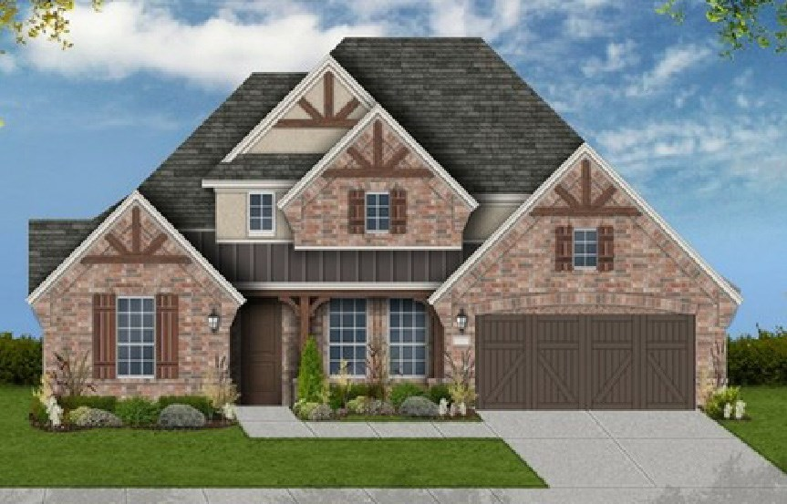 Canyon Falls Coventry Homes Plan 2767 Elevation E