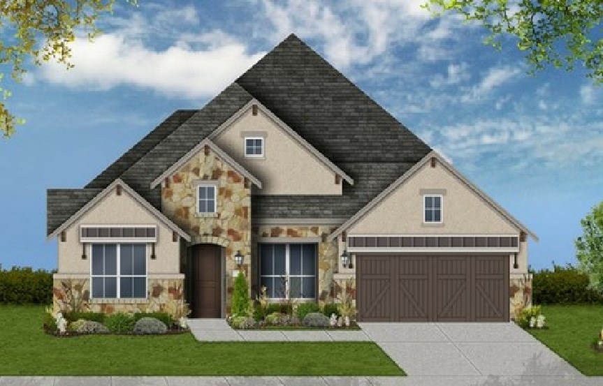 Canyon Falls Coventry Homes Plan 2767 Elevation F