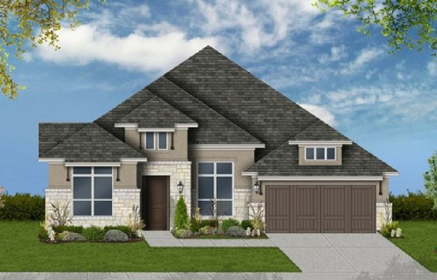 Canyon Falls Coventry Homes Plan 2767 Elevation G