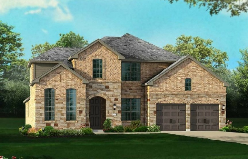 Canyon Falls Highland Homes Plan 245 Elevation A