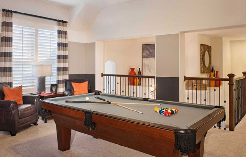 Canyon Falls Highland Homes Plan 245 Game Room