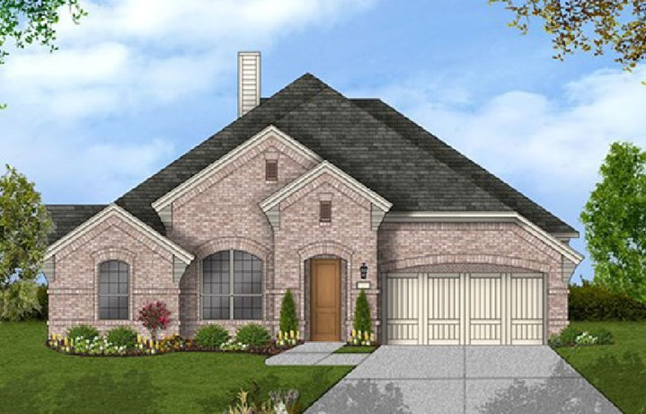 Canyon Falls Coventry Homes Plan 2884 Elevation A