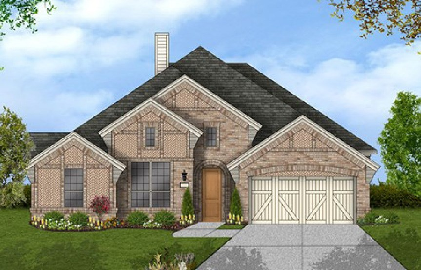 Canyon Falls Coventry Homes Plan 2884 Elevation B