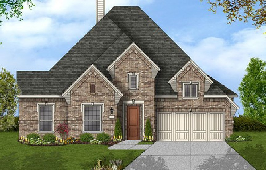 Canyon Falls Coventry Homes Plan 2884 Elevation D