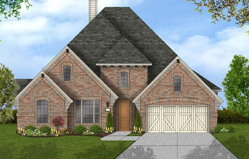 Canyon Falls Coventry Homes Plan 2884 Elevation E
