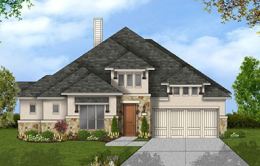 Canyon Falls Coventry Homes Plan 2884 Elevation G