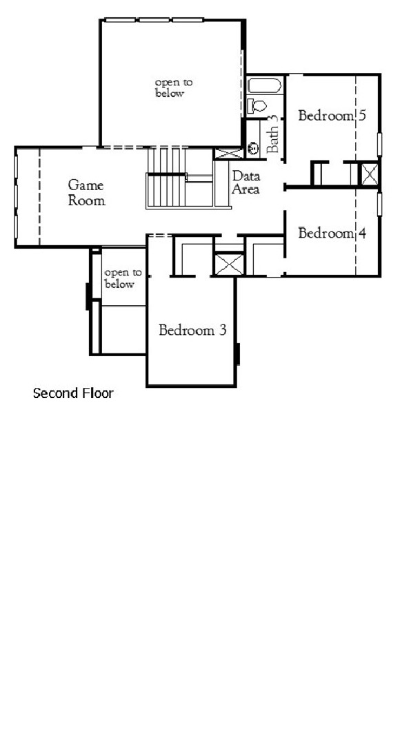 Canyon Falls Coventry Homes Plan 3341 Floor Plan