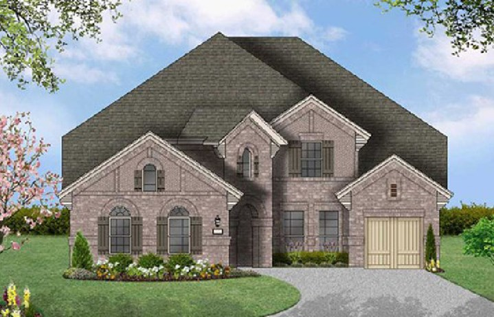Canyon Falls Coventry Homes Plan 3767 Elevation A