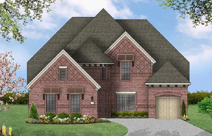 Canyon Falls Coventry Homes Plan 3767 Elevation C