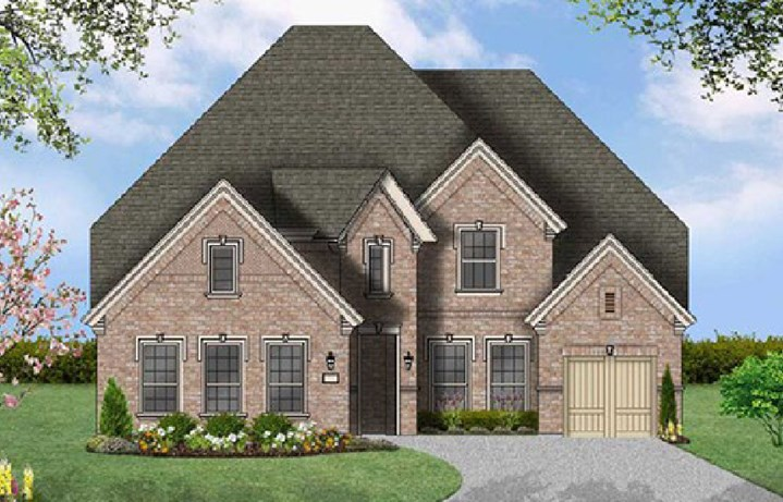 Canyon Falls Coventry Homes Plan 3767 Elevation D