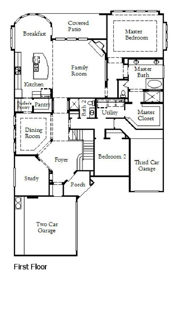 Canyon Falls Coventry Homes Plan 3767 Floor Plan