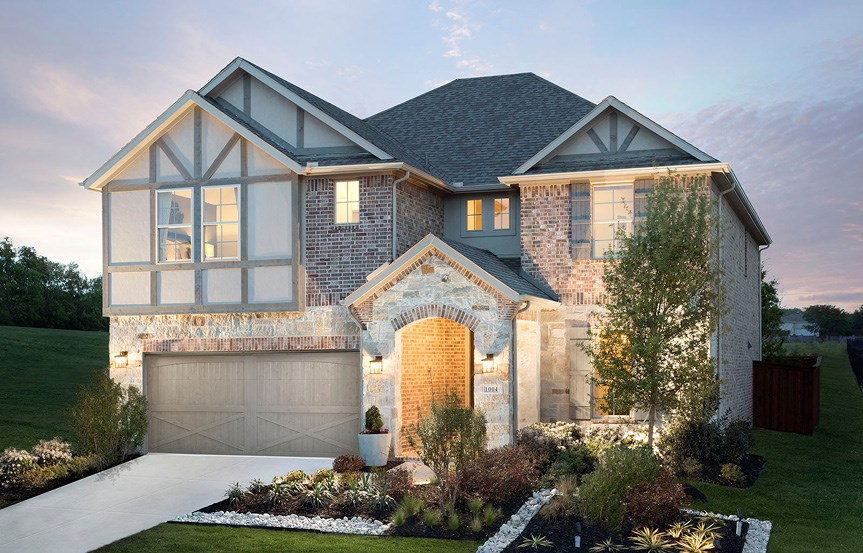 Canyon Falls Meritage Homes Cedar Exterior