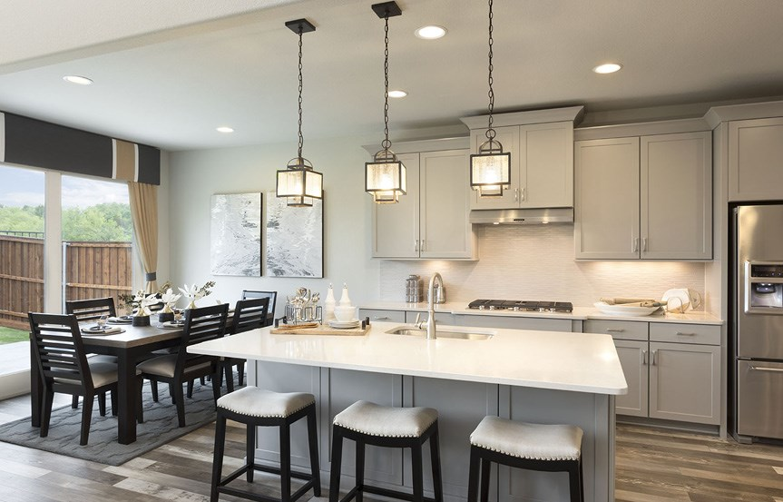 Canyon Falls Meritage Homes Cedar Kitchen