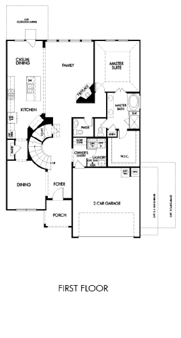 Canyon Falls Meritage Homes Cedar Floor Plan
