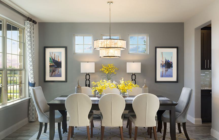 Canyon Falls Meritage Homes Berkeley Dining Room
