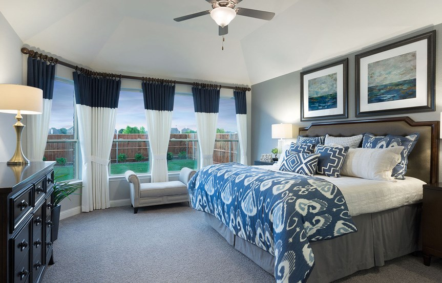 Canyon Falls Meritage Homes Berkeley Master Suite