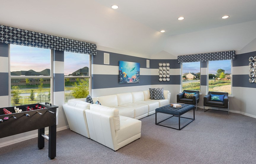 Canyon Falls Meritage Homes Berkeley Game Room