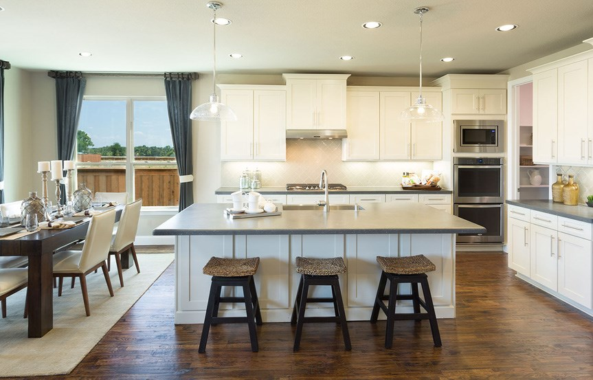 Canyon Falls Meritage Homes Copperleaf Kitchen