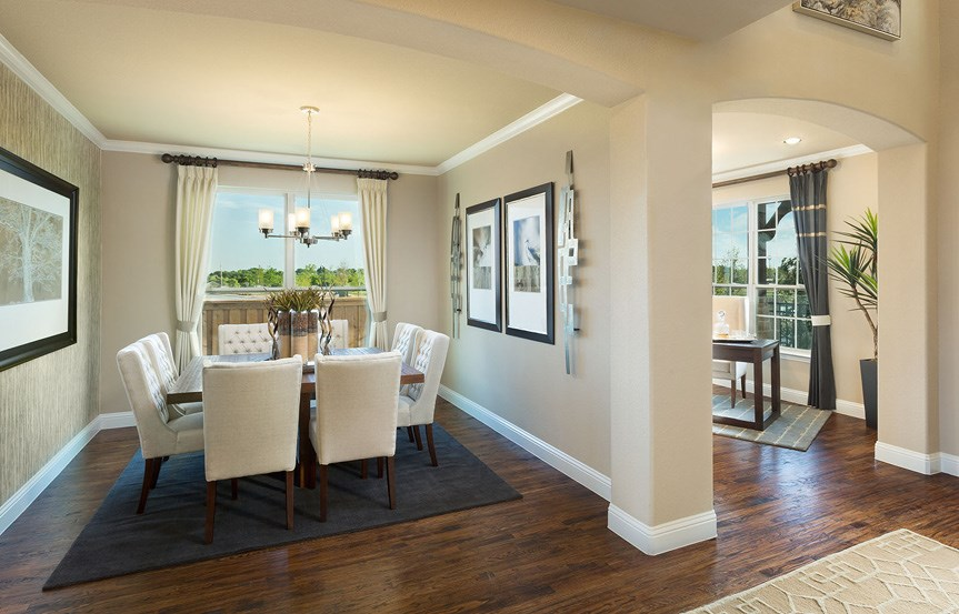 Canyon Falls Meritage Homes Copperleaf Dining Room