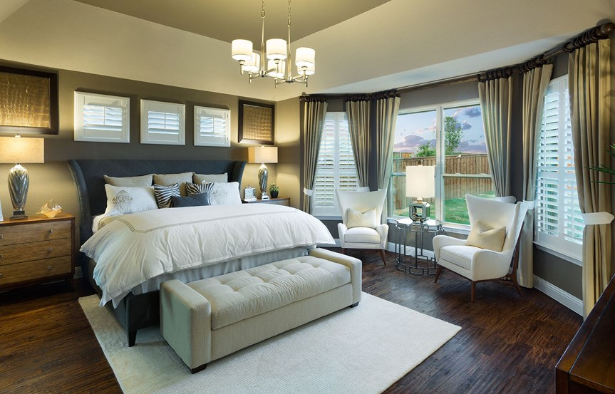 Canyon Falls Meritage Homes Copperleaf Master Bedroom