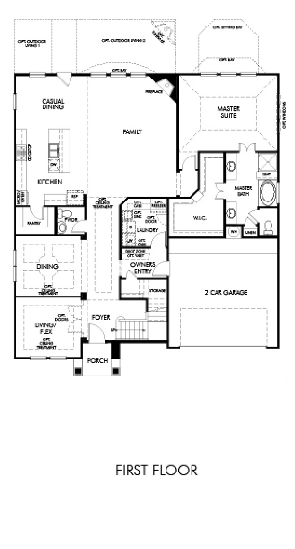 Canyon Falls Meritage Homes Copperleaf Floor Plan