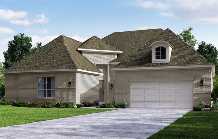 Canyon Falls Meritage Homes Paris Elevation D