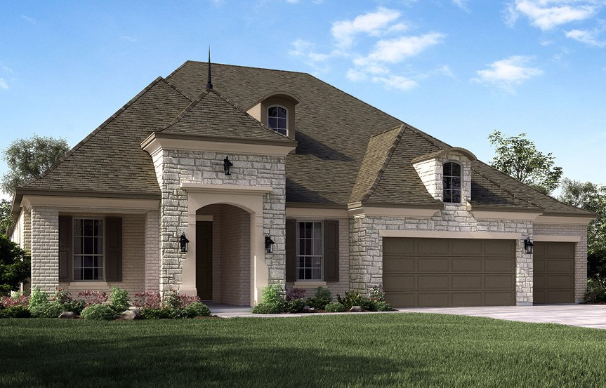 Canyon Falls Meritage Homes Sydney Elevation D